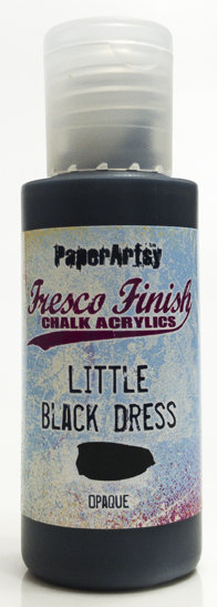 Little Black Dress ~ Fresco Finish Chalk paint