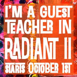 Radiant II Art Journals : Online class