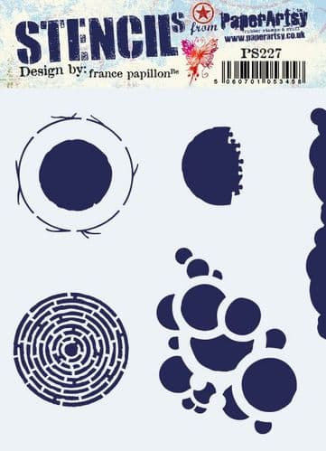PS227 ~ France Papillon stencil