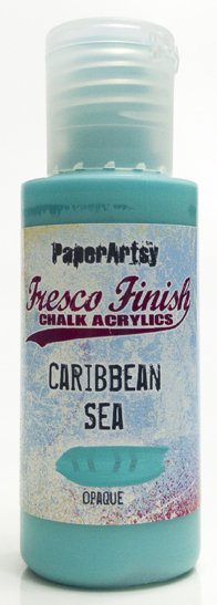 Caribbean Sea ~ Fresco Finish Chalk paint