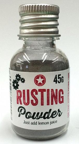 Rusting powder ~ Paperartsy