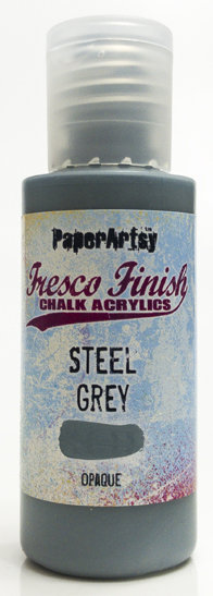 Steel grey ~ Fresco Finish Chalk paint