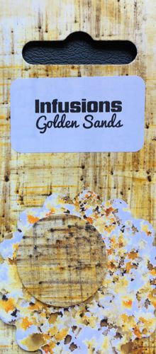 Golden Sands ~ Paperartsy infusions