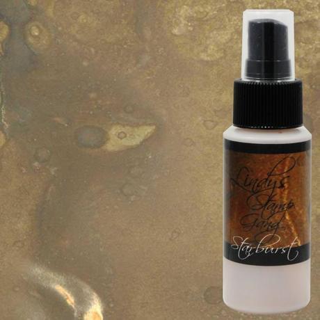 Mission Bells Brown ~ LSG Starburst Spray