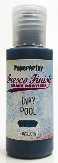 Inky Pool ~ Fresco Finish Chalk paint