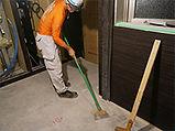 床面清掃(レイタンス処理)
