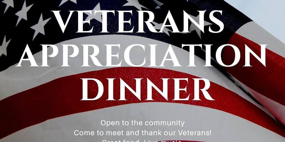 2nd Annual Veteran Appreciation Dinner