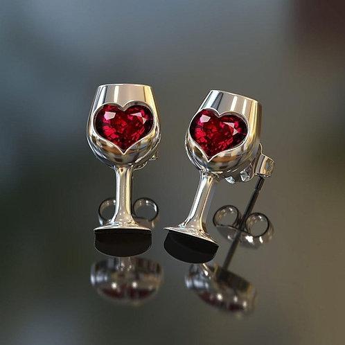 Wine Earings