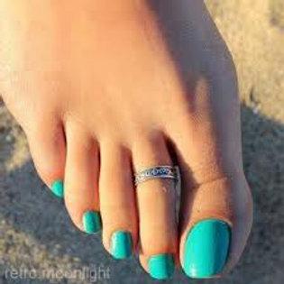 Adjustable Toe Ring