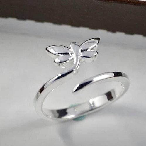 Dragon Fly Adjustable Ring