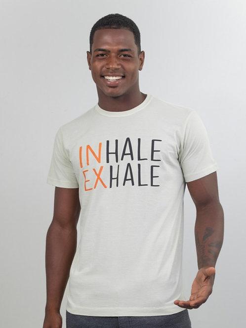 Camiseta INHALE EXHALE Off-White