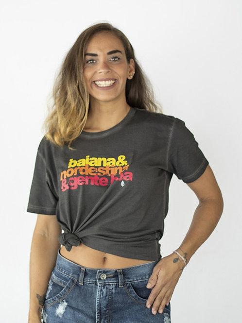 Camiseta BAIANA NORDESTINA