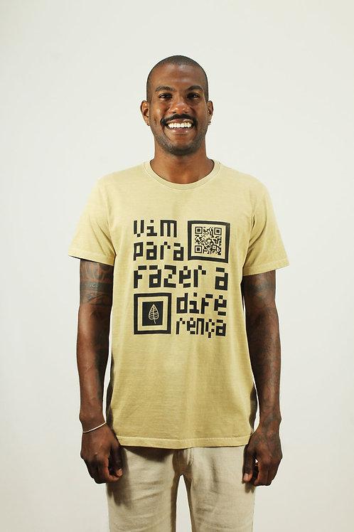 Camiseta Vim Pra Fazer a Diferença