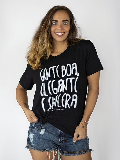 Camiseta GENTE BOA & ELEGANTE