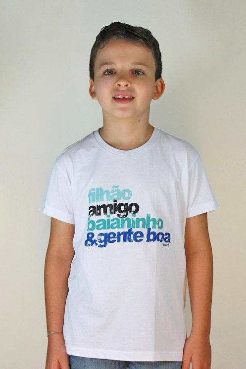 Camiseta Infantil FILHÃO AMIGO