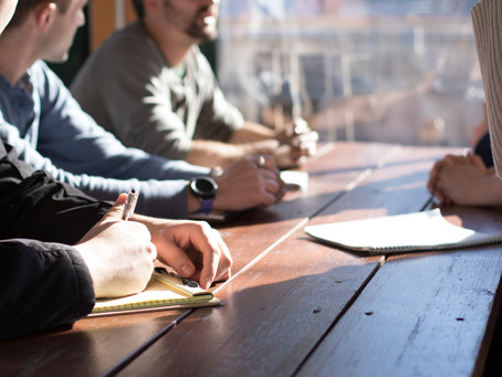 Use an agenda for your next meeting