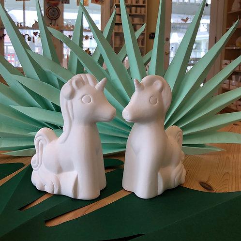 Cartoon Unicorn Figurine