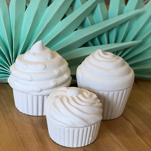Large or Medium Cupcake Box