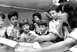 עורכת פילון במפגש עם ילדים