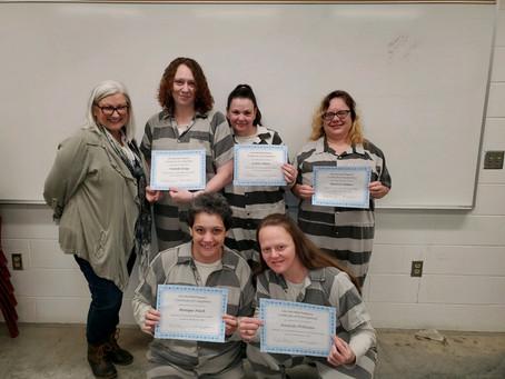 Women's January 17, 2020 Certificate Ceremony