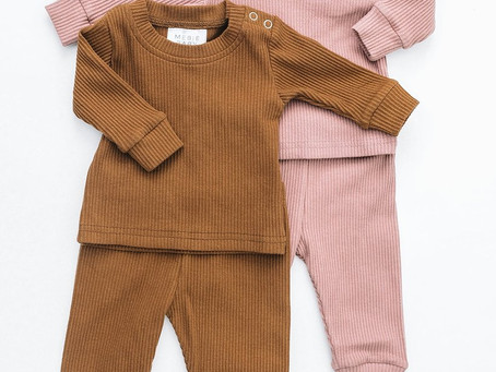 BEAUTIFUL NEUTRALS - BABY'S FIRST WARDROBE IN COLORS YOU WILL LOVE