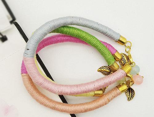 Whe Set of 3 Pastel Multicolor Bracelet