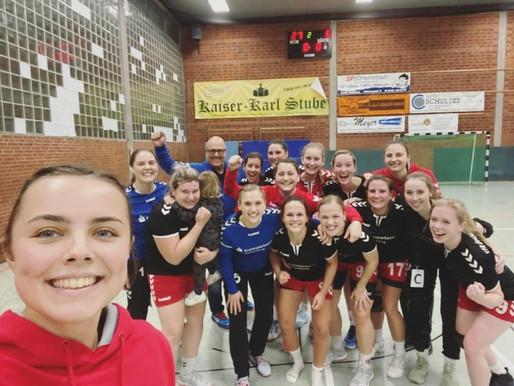 1. Damen: Heimsieg gegen HC Gelpe/Strombach III