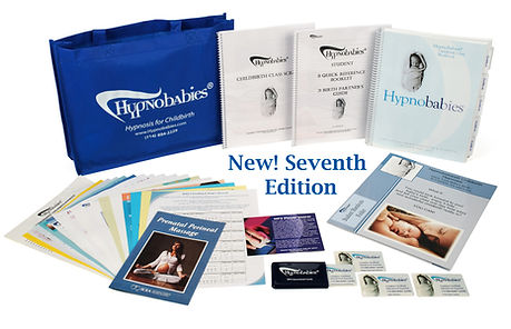 Hypnobirthing books, materials, and hypnosis cds
