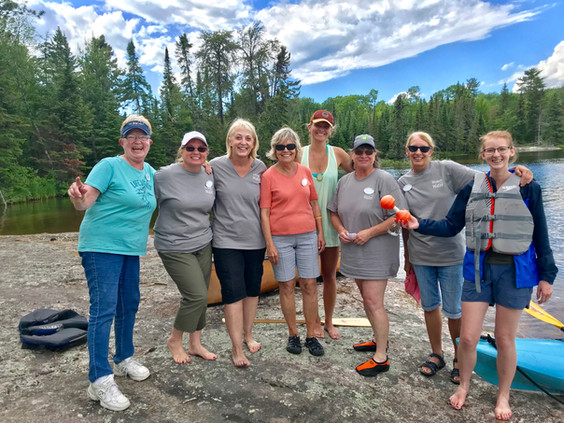 Winners of the 2019 WOW Paddling Games