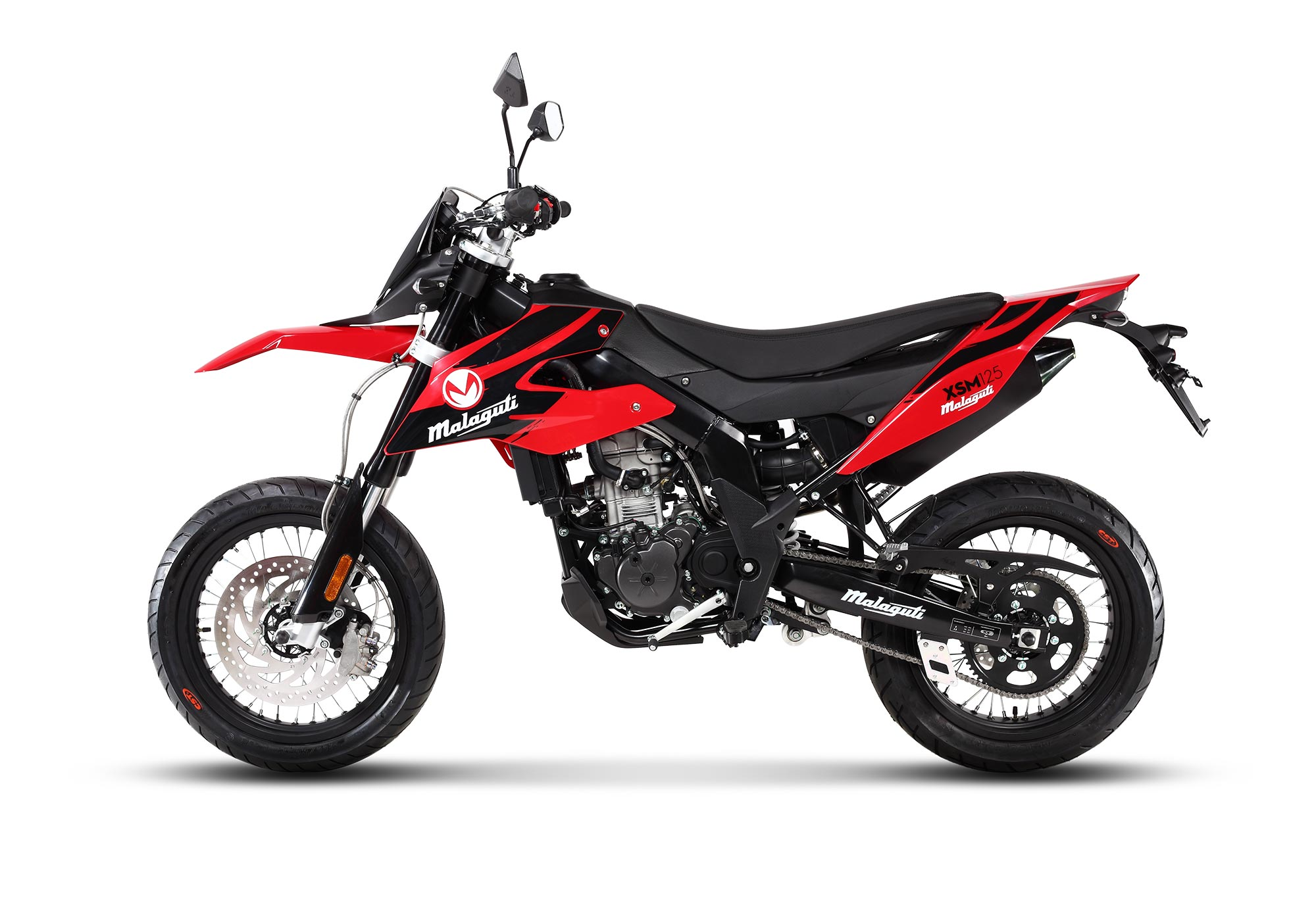 Malaguti XSM 125 RED