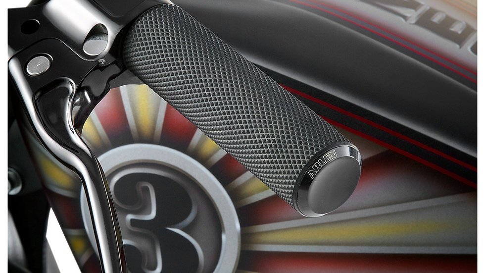 ARLEN NESS GRIPS KNURLED FUSION THROTTLE BY CABLE BLACK