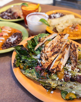 Salads & Soups -  Mesquite Grilled Romna