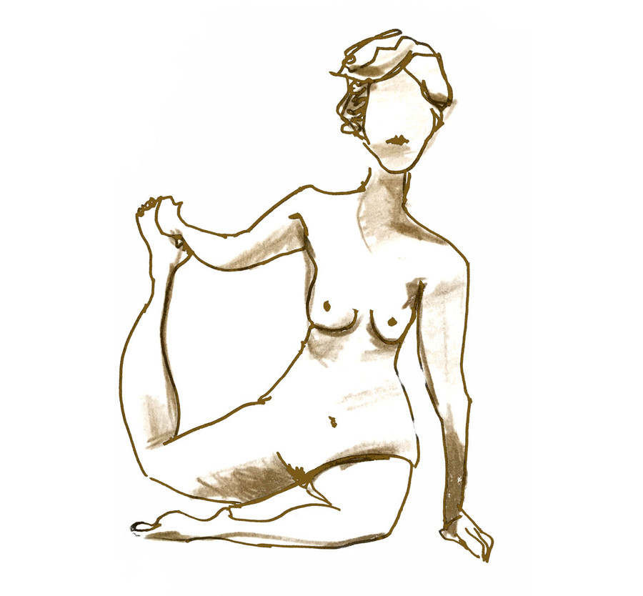 Human figure IV