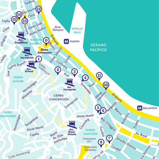 Literary Map: Routes