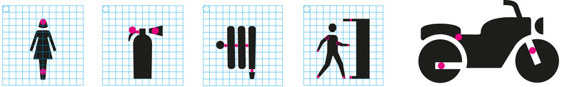 Pictograms grid