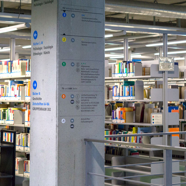 TU & UDK Library
