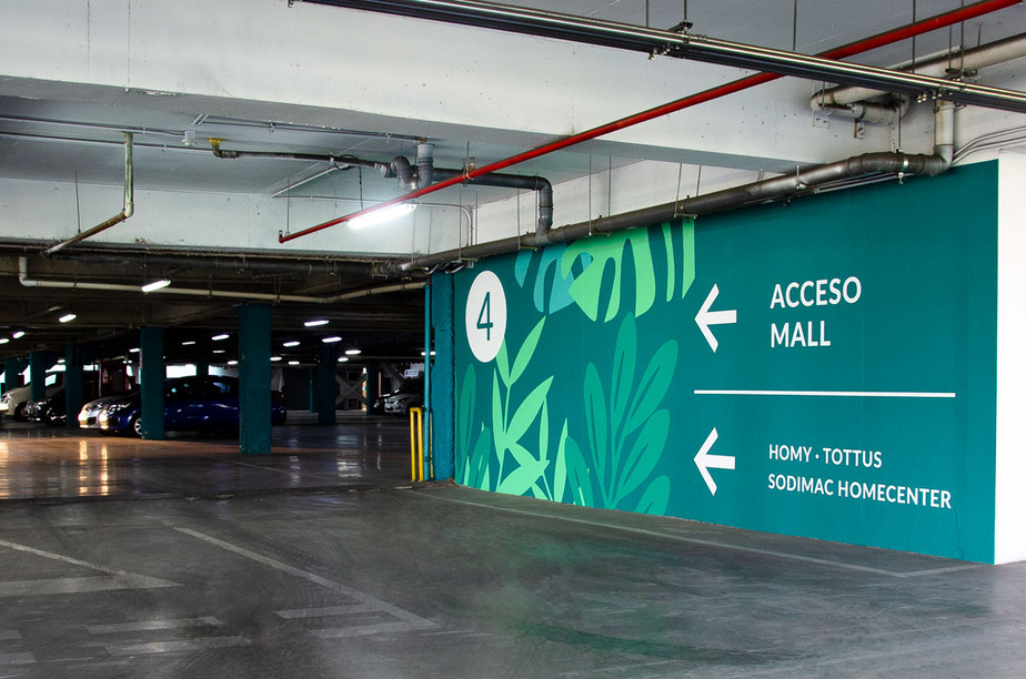 Environmental graphics based in nature
