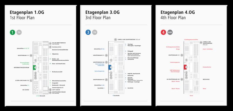 Floor maps