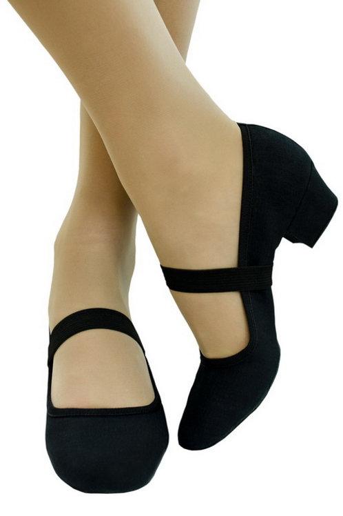 Туфли тренировочные черные