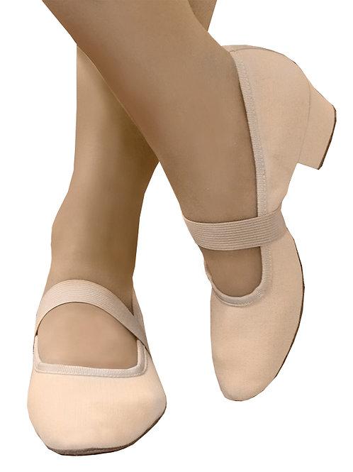 Туфли тренировочные персиковые