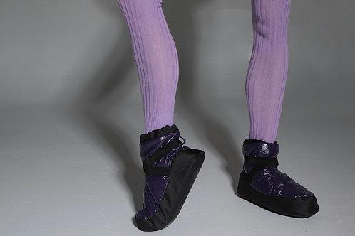 Чуни( тёмно-фиолетовый, противоскользящая подошва)