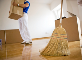 Moving out/ in cleaing Services