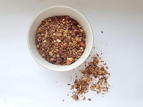 Granola Chocolat, Noisettes, Amandes & Noix