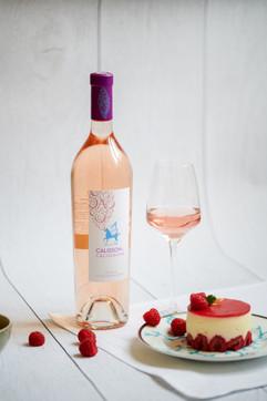 Création et réalisation de pâtisseries en accord avec les vins du Château Calissanne