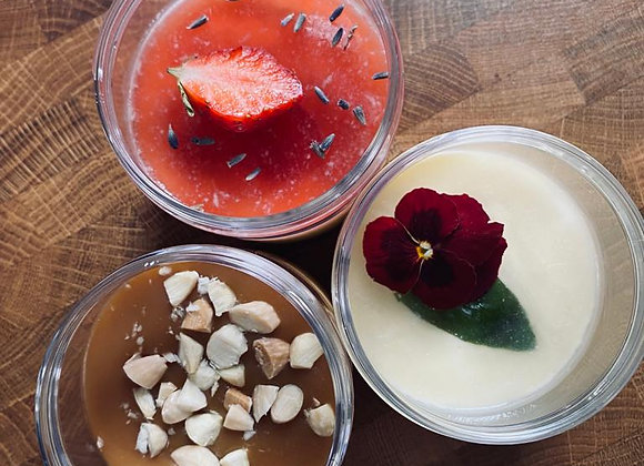 6 Desserts Gourmands individuels