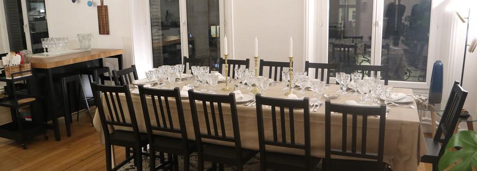 Une Table dressée à la Française