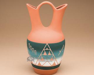 【風水】愛情運を高めてくれそうなネイティブアメリカンの花瓶