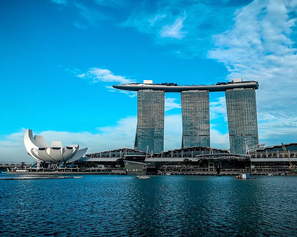マリーナベイサンズ シンガポール風水 コンテンポラリー風水コンサルタントフジワラユカ