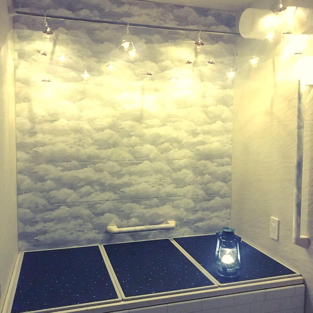 浴室の風水アレンジ コンテンポラリー風水フジワラユカ