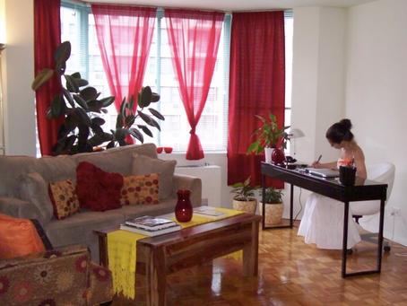 【風水】仕事の流れをサポートする「火」の要素をお部屋に素敵に取り入れる✨